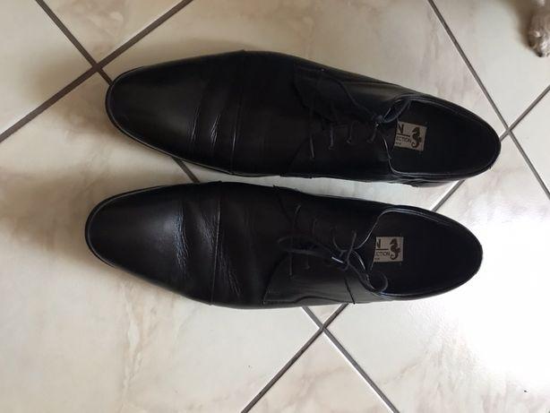 Skórzane buty rozm. 44(28,5 cm)
