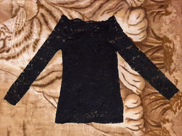 Кружевная блуза 156-258р