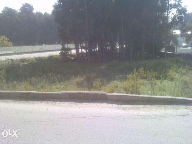 Vendo terreno rústico em Rio Meão com 3 frentes na estrada principal