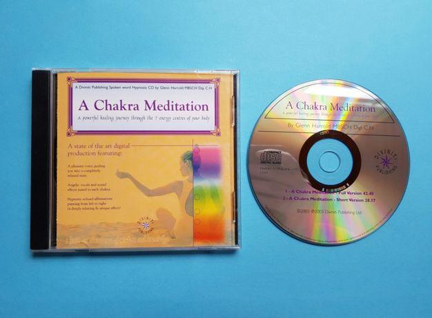"CD de Meditação / Hipnoterapia ""A Chakra Meditation"" - Glenn Harrold"