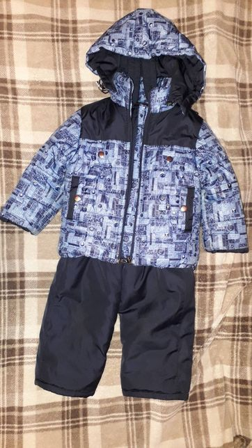 Дитячий зимовий комбінезон 86-й розмір. Комбинезон 86см