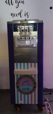 Máquina de gelados soft ice 3 saidas