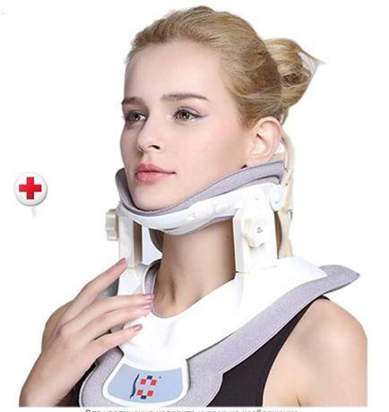 Шейный растяжитель надувной для поддержки шейного отдела позвоночника.