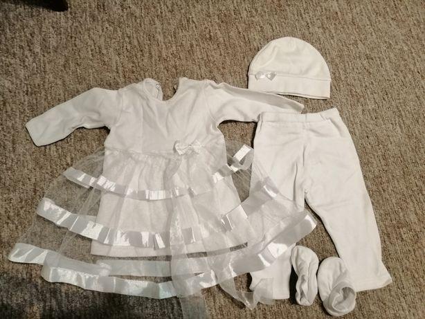 Набор для крещения, нарядное платье