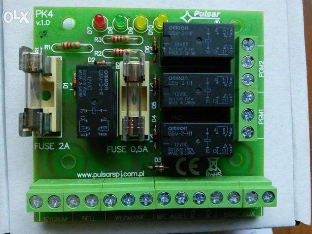 Przekaźnik, modul przekaznikowy, pk-4 , AWZ-515, pulsar nowy