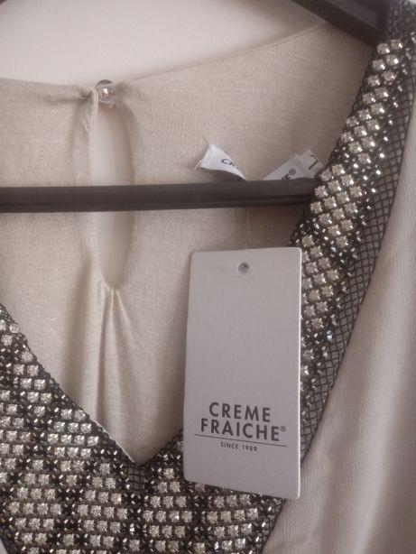 Bluzka wizytowa,elegancka Made in Italy,rozm.L(40).Nowa.Okazja.
