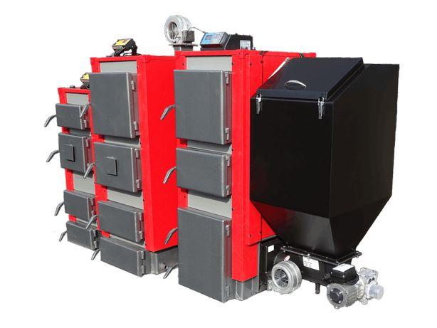 Piec kocioł z podajnikiem na EKO-GROSZEK 19 kW do 130 m2 Wysyłka 0 zł