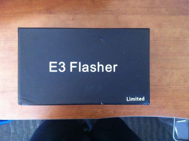 E3 Flasher + E3 Card Reader