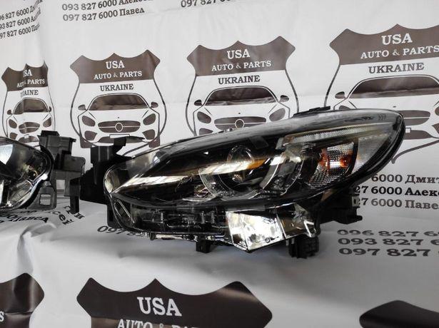 Фары Mazda 6 2015 2016 2017 с/без AFS фара мазда бампер решетка капот