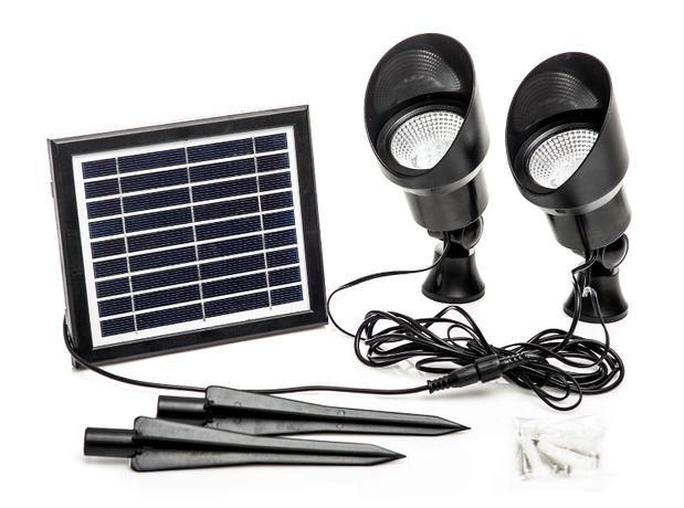 Lampa Solarna Capral 2 szt. x 12 LED