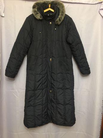Пальто женское, теплое, р. 54 - 56, продать