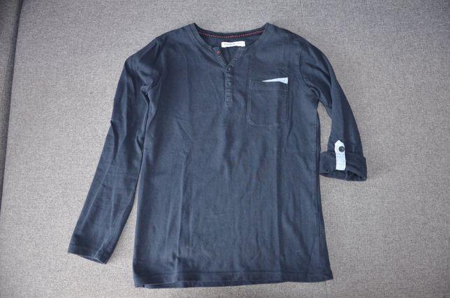 bluzka chłopięca z długim rękawkiem 128 cm