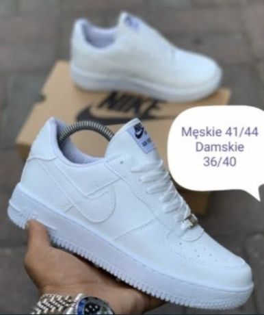 Nike Air Force 1. 36/37/38/39/40/41/42/43/44 Wys. z PL. Białe / Czarne