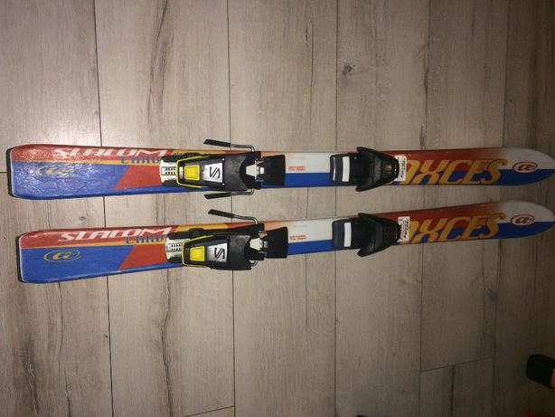 narty slalom axces wiązania salomon 110cm