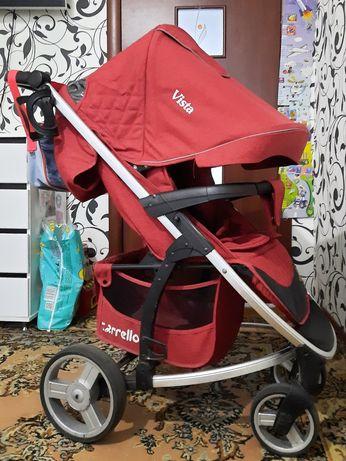 Самая лучшая прогулочная коляска-Carello Vista,сумка в подарок