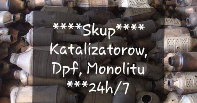 Skup Katalizatorow Monolitu DPF 24h nawet w święta. Bez  pośredników