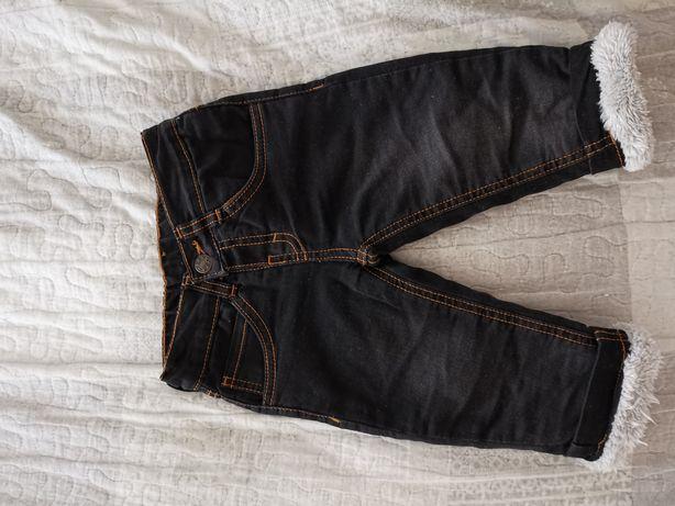 Zimowe dżinsy