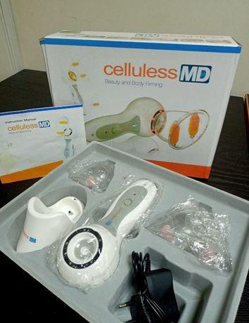 Портативный вакуумный массажер Celluless MD и зарядка