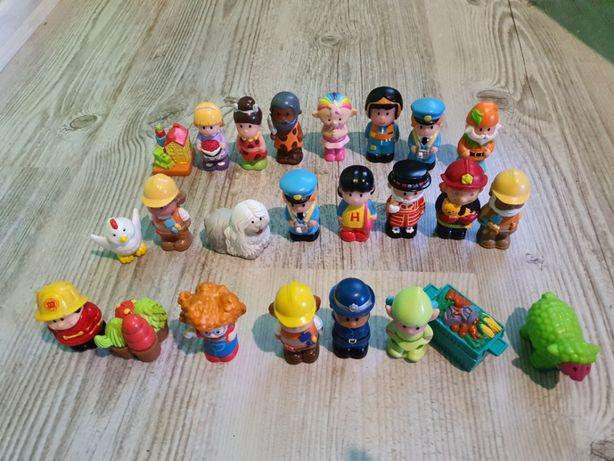 Figurka , Figurki Mix Rożne Mieszane Zestaw 24 Sztuki Ludziki