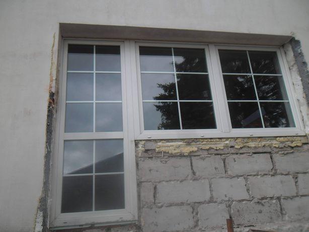 Okno z drzwiami balkonowymi