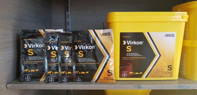 Virkon 200g-dezynfekcja pomieszczeń,środków transportu WYSYŁKA