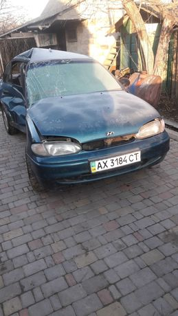 По Запчастям   Hyundai   Accent,авто после ДТП