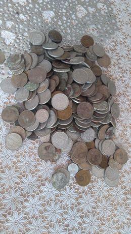 Monety 640sztuk polskie i zagraniczne