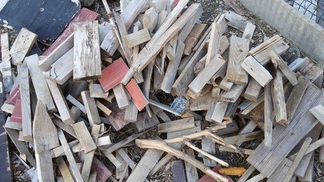 Drewno opałowe sosnowe scinki