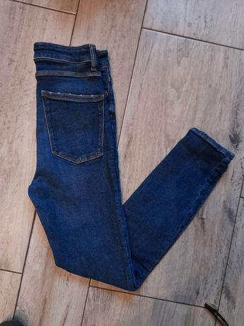 Spodnie zara jeansy 36