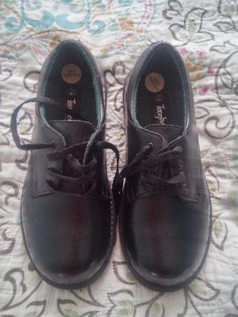 buty garniturowe do komunii szkoły skórzane 34,5 jak nowe