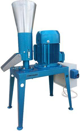 Гранулятор кормов с неподвижной матрицей 4 кВт 80-100кг/ч