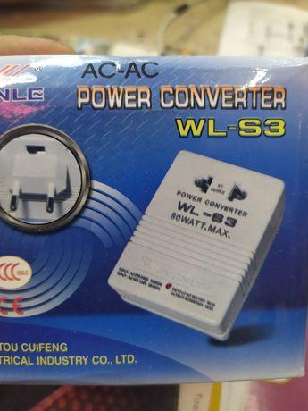Адаптер 220/110. WL-S3