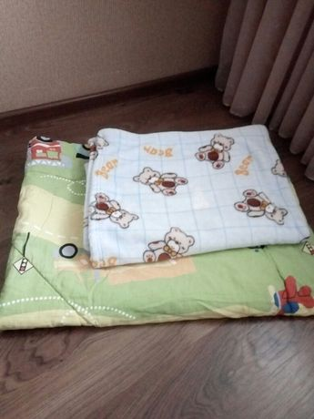 одеяла в детскую кроватку ТМ Ярослав