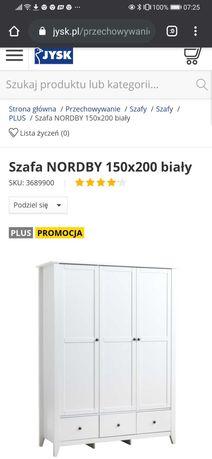 Szafa na nóżkach cena w sklepie 2000 zł.