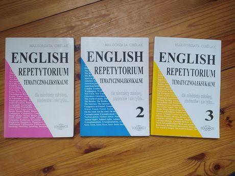 Angielski Repetytorium tematyczno-leksykalne, 3 części