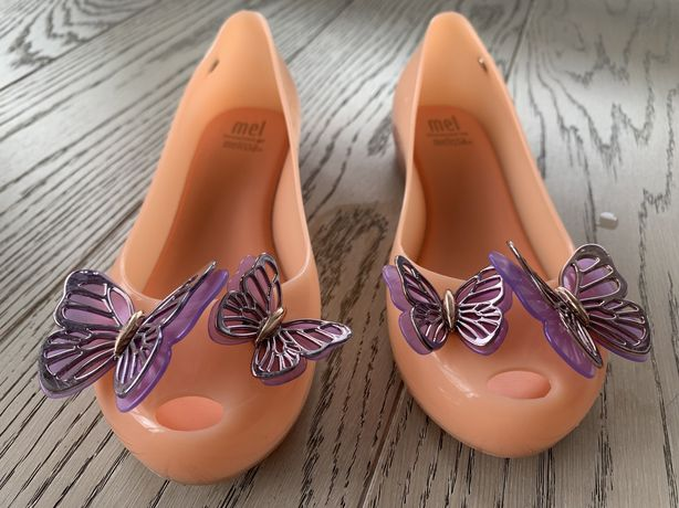 Buty Melissa baleriny eleganckie z motylkami