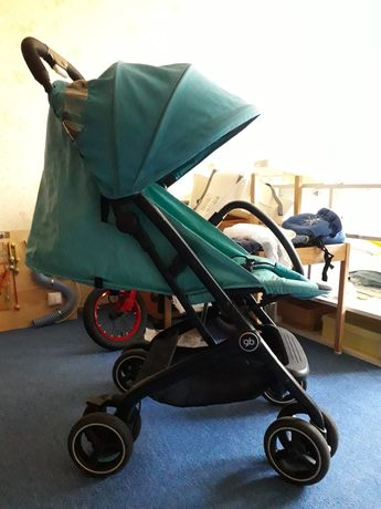 Прогулочная коляска GB Qbit Plus ( Qbit+ ) Capri Blue-turquoise