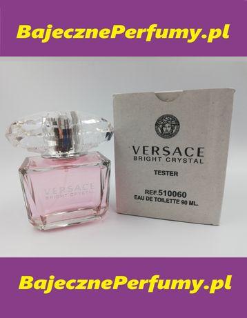 Perfumy VERSACE Bright Crystal 90ml tester hit okazja WYSYŁKA llllll
