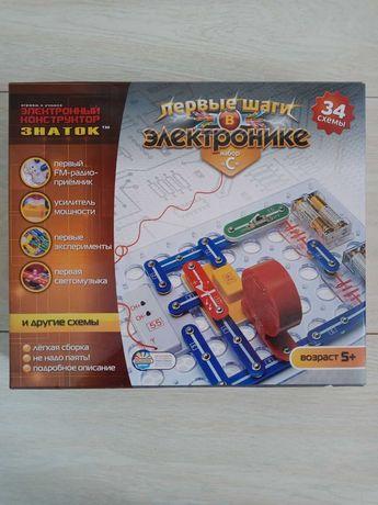 """Конструктор Znatok набор """"C"""" Первые шаги в электронике"""