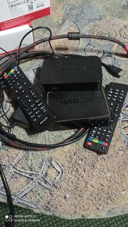 Ip приставка, Mag250,255