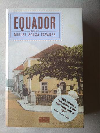Livro Equador - Miguel Sousa Tavares (portes incluidos)