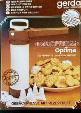 Seringa para fazer biscoitos e decorar pastelaria marca Genda