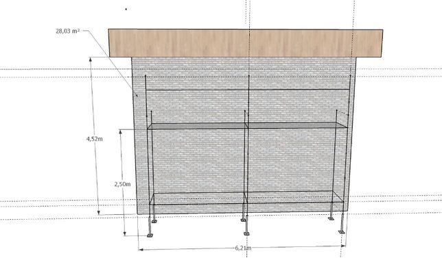 Sprzedam rusztowanie choinkowe 28 m2, klinowe podesty blaty TRANSPORT