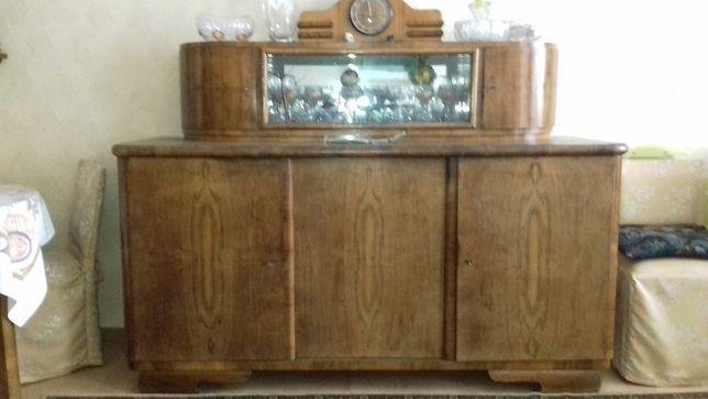 Stary kredens drewniany komoda + drugi dodatkowy mniejszy gratis