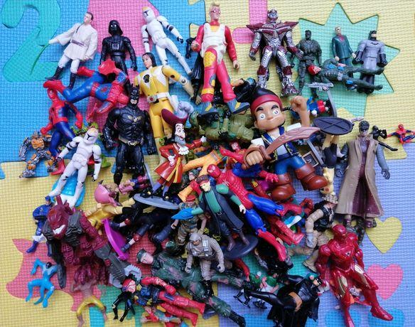 Фигурки супергерой трансформеры солдатики Джек город героев военные