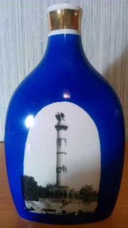 Сувенир Полтава. Ваза. бутылка.графин. Полтавский фарфор.