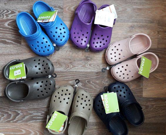 Продам новые оригинальные Crocs W4-5, наш 34-35