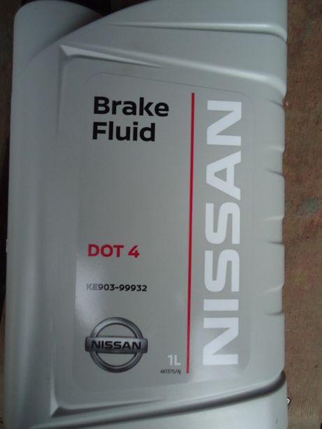 Тормозная жидкость Ниссан, Nissan/Infiniti DOT 4, оригинал, дёшево..