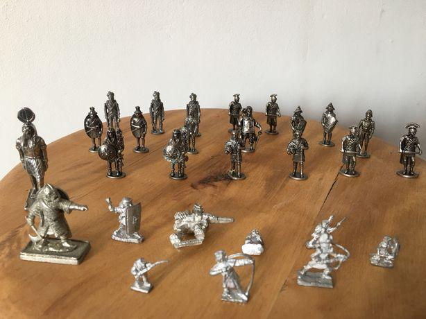 Sprzedam żołnierzyki metalowe 28 sztuk