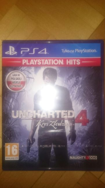 Uncharted 4 ps4 NOWA sony playstation